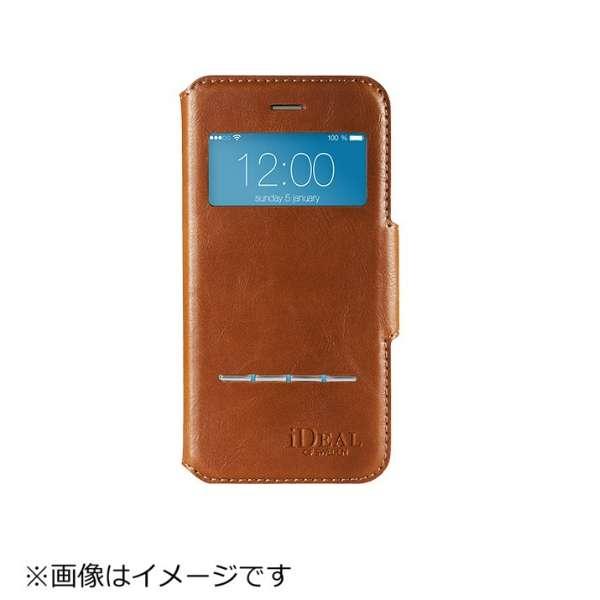 iPhone 7用 手帳型 SWIPE WALLET ブラウン IDSWII703