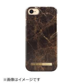 iPhone 7用 A/W 16-17 ブラウンマーブル IDFCA16-I7-37
