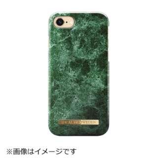 iPhone 7用 A/W 16-17 グリーンマーブル IDFCA16-I7-36