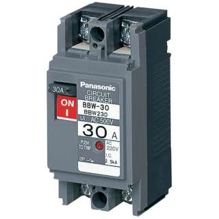 Panasonic断路器BBW-60 2P1 BBW2152《※图片是形象。和实际的商品不一样的》