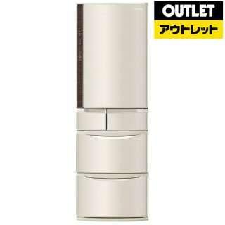 【アウトレット品】 NR-E431V-N 冷蔵庫 Vタイプ シャンパン [5ドア /右開きタイプ /411L] 【生産完了品】