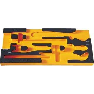 TRUSCO EVAフォーム 黒×オレンジ 3段式工具箱用 TIT44SBKF3