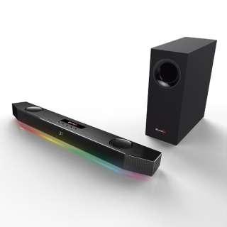 SBX-KTN ゲーミングスピーカーシステム Sound BlasterX Katana ブラック [AC電源 /2.1ch]