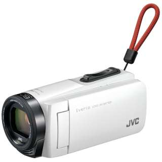 GZ-F270 ビデオカメラ Everio(エブリオ) ホワイト [フルハイビジョン対応]