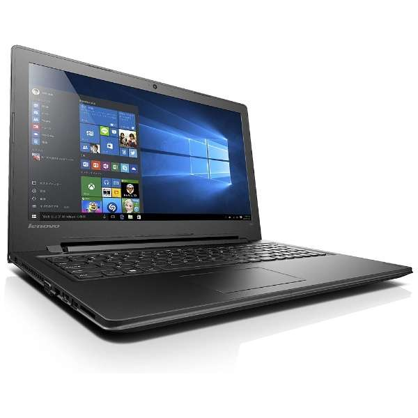 80M300NLJP ノートパソコン Ideapad (アイデアパッド )300 エボニーブラック [15.6型 /intel Celeron /HDD:500GB /メモリ:4GB /2016年12月モデル]