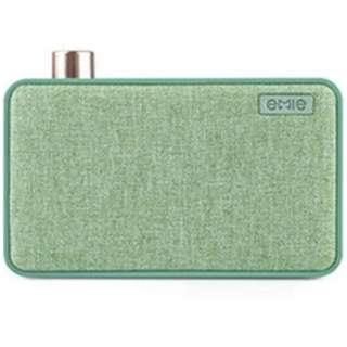 EM9026 ブルートゥース スピーカー CANVAS グリーン [Bluetooth対応]