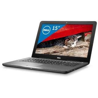 NI55T-6WHBB ノートパソコン Inspiron 15 5000 5567 ブラック [15.6型 /intel Core i5 /HDD:1TB /メモリ:8GB /2016年秋冬モデル]