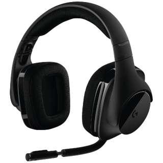 G533 ゲーミングヘッドセット ブラック [ワイヤレス(USB) /両耳 /ヘッドバンドタイプ]