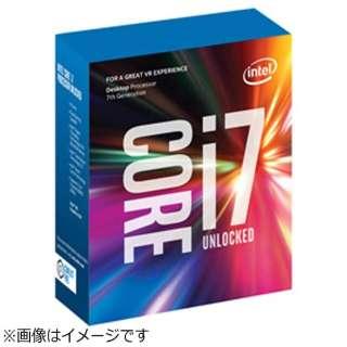 Core i7-7700K BOX品 [CPU]