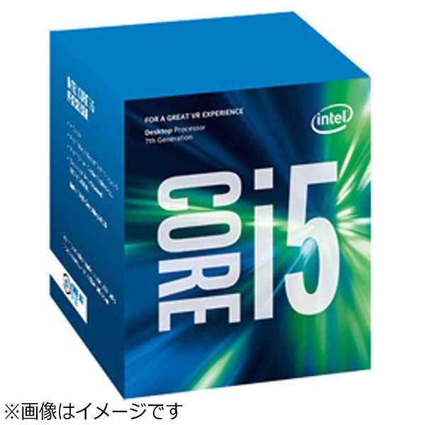 Core i5-7500 BOX品 [CPU]