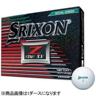 【スリーブ単位販売になります】ゴルフボール スリクソン Z-STAR XV《1スリーブ(3球)/ロイヤルグリーン/2017年モデル》 【オウンネーム非対応】