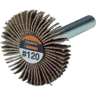 TRUSCO 薄型フラップホイール 30X5X6 #120 5個入 UF3005-120 《※画像はイメージです。実際の商品とは異なります》
