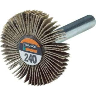 TRUSCO 薄型フラップホイール 30X5X6 #240 5個入 UF3005-240 《※画像はイメージです。実際の商品とは異なります》