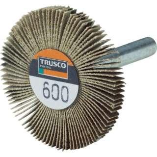 TRUSCO 薄型フラップホイール 40X5X6 #600 5個入 UF4005-600 《※画像はイメージです。実際の商品とは異なります》
