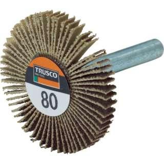 TRUSCO 薄型フラップホイール 40X5X6 #80 5個入 UF4005-80 《※画像はイメージです。実際の商品とは異なります》