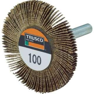 TRUSCO 薄型フラップホイール 50X5X6 #100 5個入 UF5005-100 《※画像はイメージです。実際の商品とは異なります》