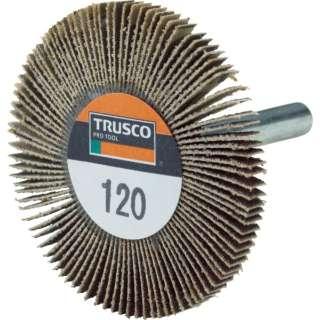 TRUSCO 薄型フラップホイール 50X5X6 #120 5個入 UF5005-120 《※画像はイメージです。実際の商品とは異なります》