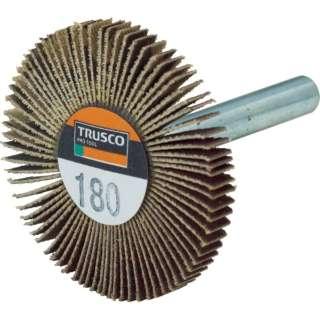 TRUSCO 薄型フラップホイール 50X5X6 #180 5個入 UF5005-180 《※画像はイメージです。実際の商品とは異なります》