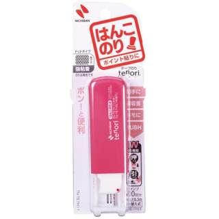 ニチバン テープのり tenori はんこのり 茶 TN-TE7H18 《※画像はイメージです。実際の商品とは異なります》