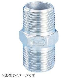 TRUSCO ねじ込み管継手 SUS 六角ニップル 15A TSTN-15A 《※画像はイメージです。実際の商品とは異なります》