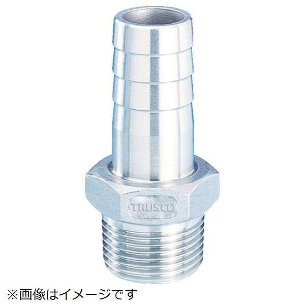 TRUSCO ねじ込み管継手 SUS 六角ホースニップル 25A TSTHN-25A 《※画像はイメージです。実際の商品とは異なります》