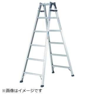 アルインコ  幅広踏ざん(55mm)はしご兼用脚立PRS-W PRS150WA 《※画像はイメージです。実際の商品とは異なります》