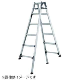 アルインコ 伸縮脚付きはしご兼用脚立(踏ざん幅60mm・各脚441mm伸縮) PRT210FX 《※画像はイメージです。実際の商品とは異なります》