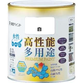 ALESCO プレミアム水性塗料 0.7L 白 603-001-0.7