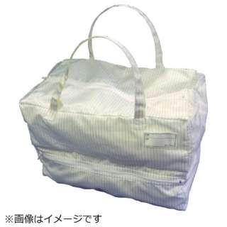 TRUSCO クリーンルーム用バッグ S CLBAG-S 《※画像はイメージです。実際の商品とは異なります》