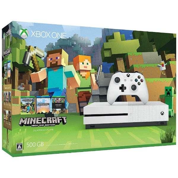 Xbox One S(エックスボックスワン エス) 500GB(Minecraft 同梱版) [ゲーム機本体]