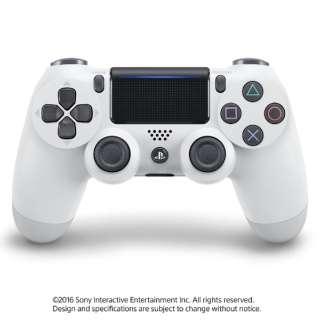 【純正】PS4専用ワイヤレスコントローラー [DUALSHOCK4] グレイシャー・ホワイト(CUH-ZCT2J13)【PS4】