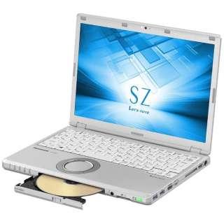 CF-SZ6HDKPR ノートパソコン Let's note(レッツノート)SZシリーズ シルバー [12.1型 /intel Core i5 /HDD:1TB /メモリ:8GB /2017年1月モデル]