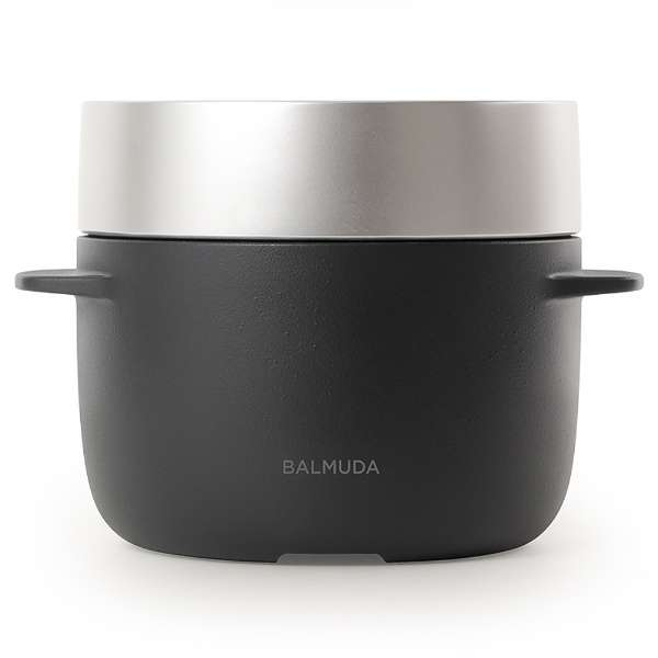K03A-BK 炊飯器 BALMUDA The Gohan ブラック [3合]