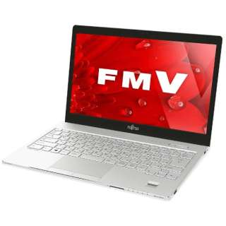 FMVS75B1W ノートパソコン LIFEBOOK(ライフブック) アーバンホワイト [13.3型 /intel Core i5 /HDD:500GB /メモリ:4GB /2017年1月モデル]