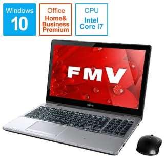 LIFEBOOK(ライフブック) ノートパソコン シャイニーブラック FMVA90B1 [15.6型 /intel Core i7 /HDD:1TB /メモリ:8GB /2017年1月モデル]