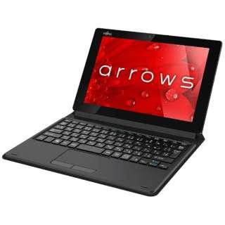 FARQ35B1B Windowsタブレット arrows Tab QHシリーズ QH35/B1 ブラック [10.1型 /intel Atom /eMMC:128GB /メモリ:2GB /2017年2月モデル]