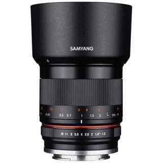 カメラレンズ 35mm F1.2 ED AS UMC CS ブラック [キヤノンEF-M /単焦点レンズ]