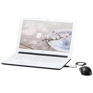 PC-NS100G2W ノートパソコン LAVIE Note Standard ホワイト [15.6型 /intel Celeron /HDD:500GB /メモリ:4GB /2017年1月モデル]