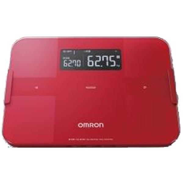 [体重体組成計] カラダスキャン 【送料無料】 ホワイト OMRON HBF-255T-W