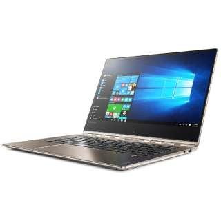 80VF0018JP ノートパソコン Yoga 910 シャンパンゴールド [13.9型 /intel Core i5 /SSD:256GB /メモリ:8GB /2017年1月モデル]