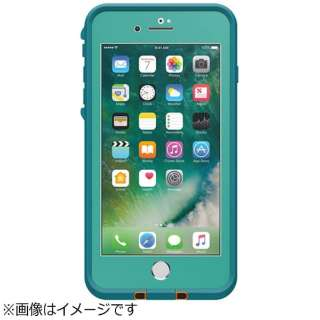 iPhone 7 Plus用 fre case ティール LIFEPROOF