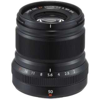 カメラレンズ XF50mmF2 R WR FUJINON(フジノン) ブラック [FUJIFILM X /単焦点レンズ]