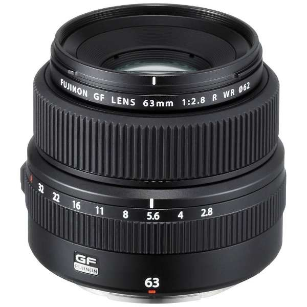 相机镜头GF63mmF2.8 R WR FUJINON(富士能)[FUJIFILM G/单焦点透镜]