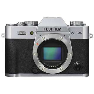 X-T20-S Mirrorless interchangeable-lens camera Cameras silver [Body simple substance]