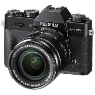 X-T20-B Mirrorless interchangeable-lens camera Cameras black [zoom lens]