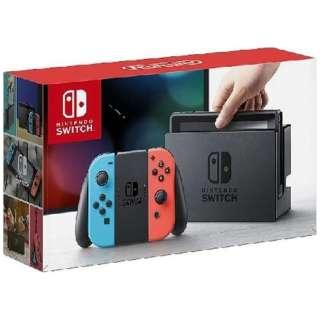 Nintendo Switch Joy-Con(L) ネオンブルー/(R) ネオンレッド(ニンテンドースイッチ) [ゲーム機本体]