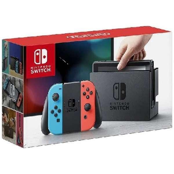 Nintendo Switch Joy-Con(L) ネオンブルー/(R) ネオンレッド(ニンテンドースイッチ)[2017年3月モデル] [ゲーム機本体]