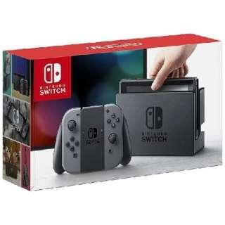 Nintendo Switch Joy-Con(L)/(R) グレー(ニンテンドースイッチ)[2017年3月モデル] [ゲーム機本体]