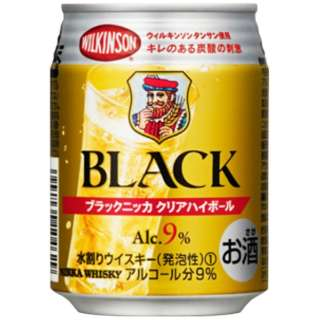 ブラックニッカ クリアハイボール ケース (250ml/24本)【ハイボール】