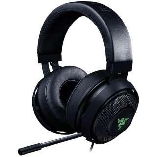 RZ04-02050100-R3A1 ゲーミングヘッドセット Kraken Pro V2 Classic Black [φ3.5mmミニプラグ /両耳 /ヘッドバンドタイプ]